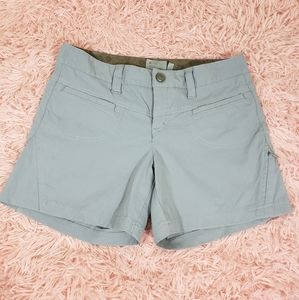 Athleta gray shorts size 0